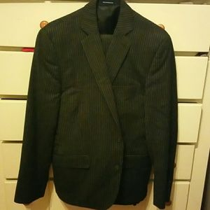 Mens Suit 100% Wool